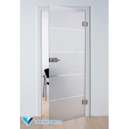 Varstomos stiklo durys