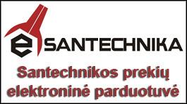 Santechnikos prekių elektroninė parduotuvė
